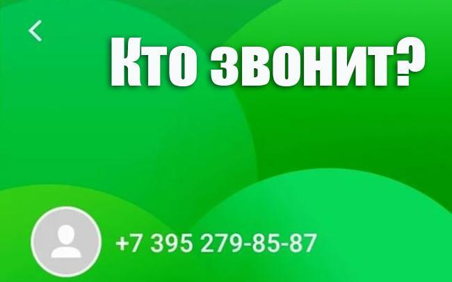 Номер 73952798587 высвечивается на мобильном