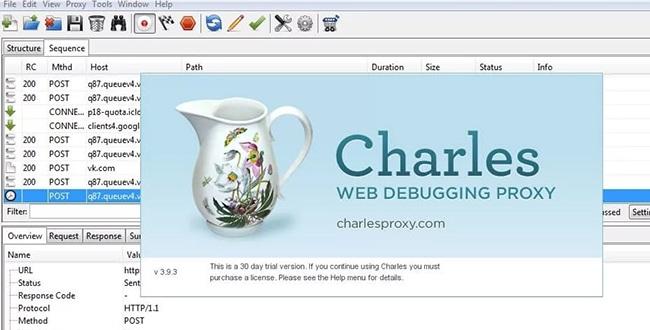 Программа Charles Proxy для изменения языка