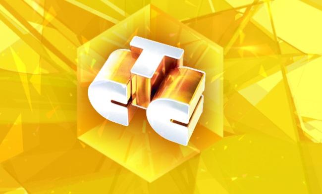 3D логотип телевизионной сети