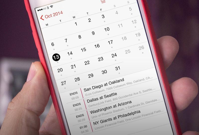 Календарь в Айфоне