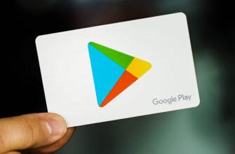 Карточка Google Play