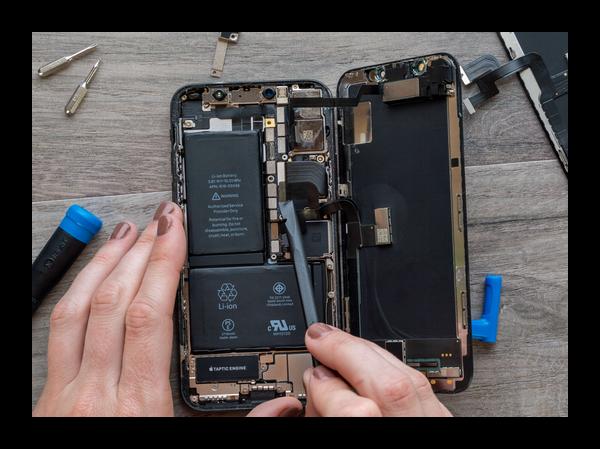 Внутренности смартфона