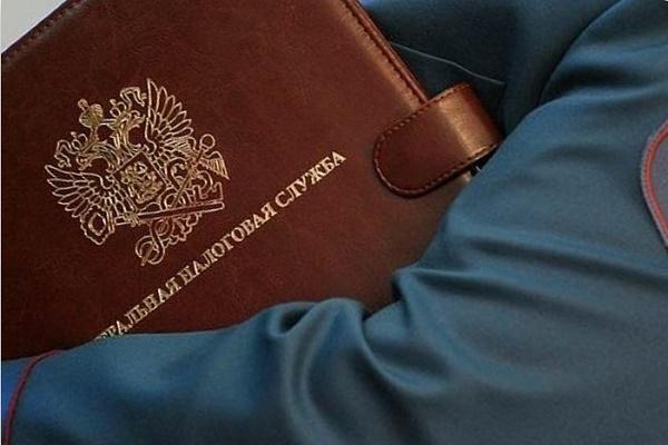 Фото папка ФНС в руке