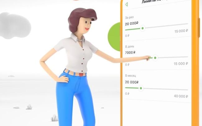 Картинка с пластилиновой девушкой и телефоном