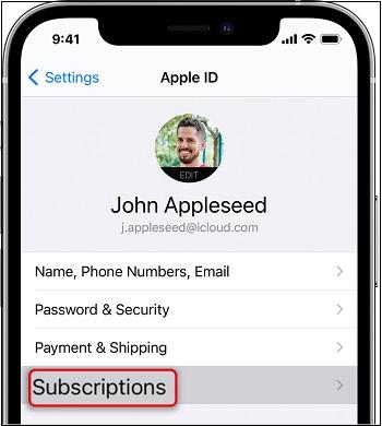 Подписки Эпл