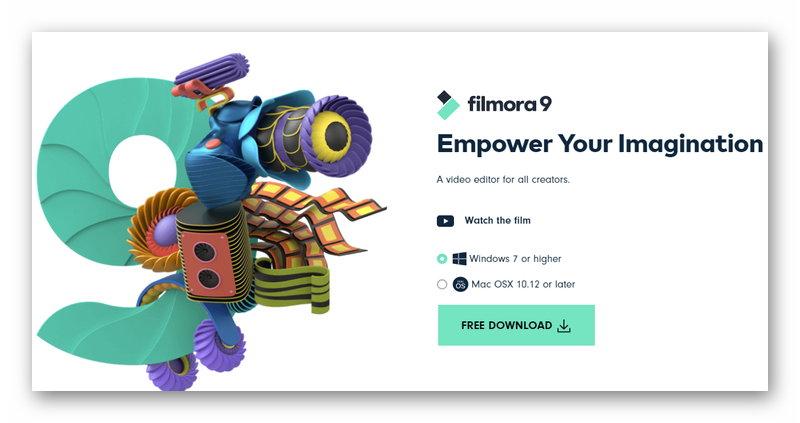 Программа Wondershare Filmora