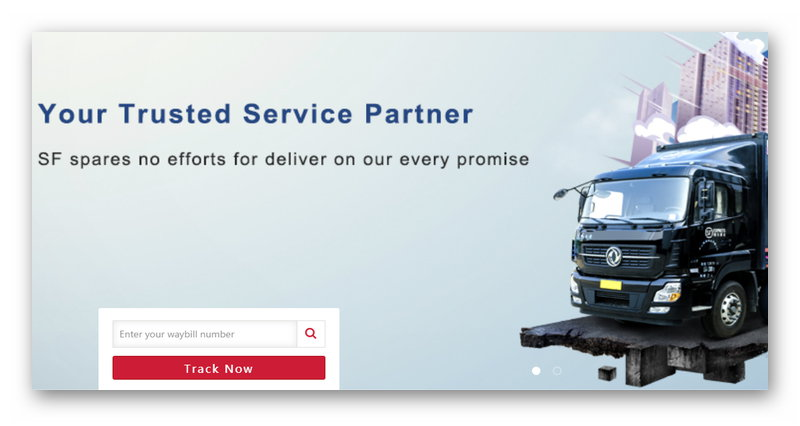 Официальный сайт SF-Express