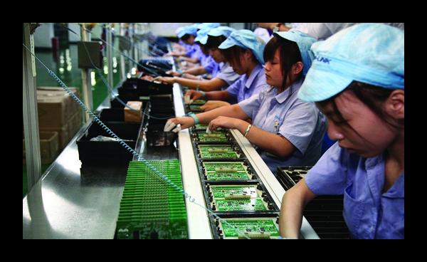 Фабрика в Китае