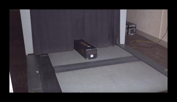 Сканер на таможне