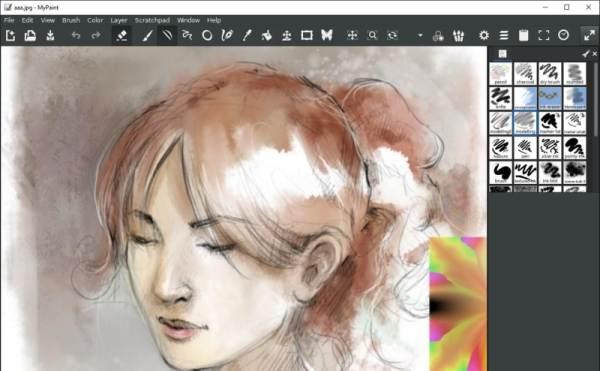 Бесплатная программа для рисования на компьютере paint.