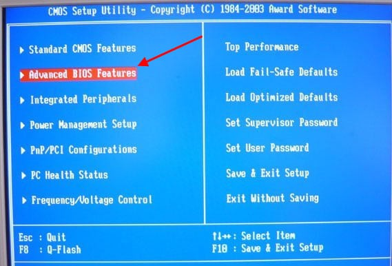 при включении компьютера disk boot failure