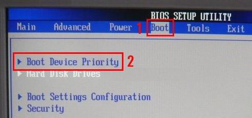 что делать если пишет disk boot failure