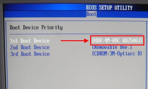 компьютер пишет disk boot failure insert system