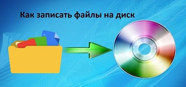 Изучаем способы записи на диск