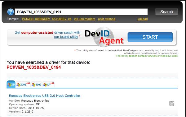 Используйте ресурс devid.info для поиска драйверов по ИД