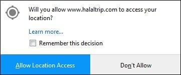 """Нажмите на """"Allow Location Access"""" и ресурс сам определит ваше местоположение"""
