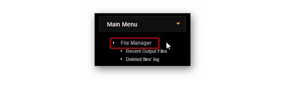 Файл менеджер