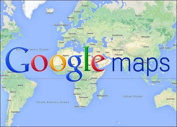 """Изучаем функционал онлайн сервиса """"Карты Гугл"""""""