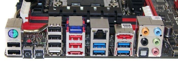 USB-порты на материнской плате