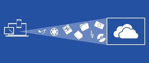 OneDrive позволяет хранить в облаке различные файлы и настройки
