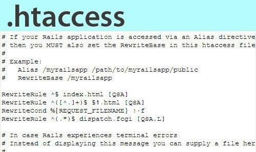 Редактируем файл .htaccess