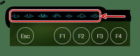 Отображение нажатых клавиш на key-test.ru
