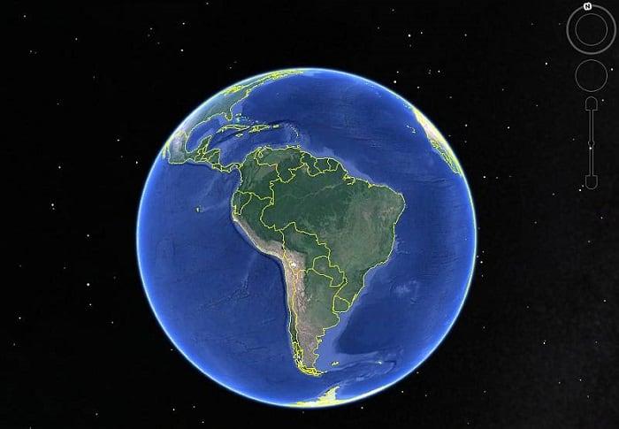 Карты и глобусы земли в 3D