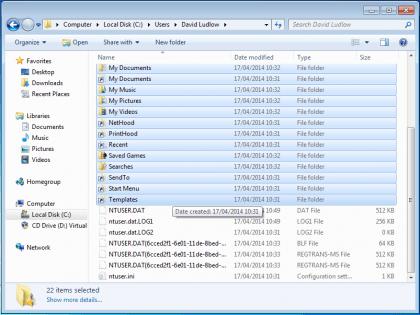 Выберите нужные файлы